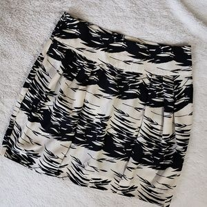 Silence + Noise Silk Mini Skirt